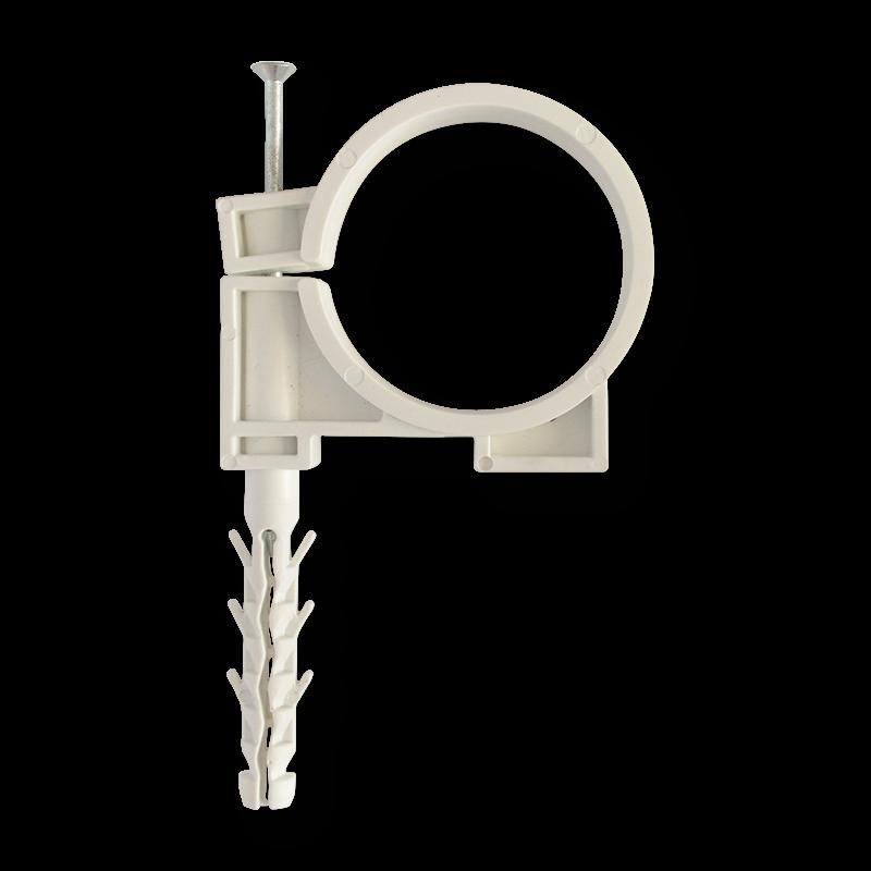 Обойма для труб и кабеля Ø63 c ударным шурупом