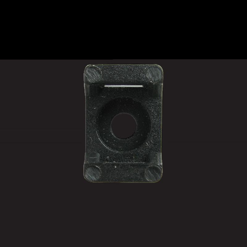 Площадка для стяжки до 5 мм под шуруп черная