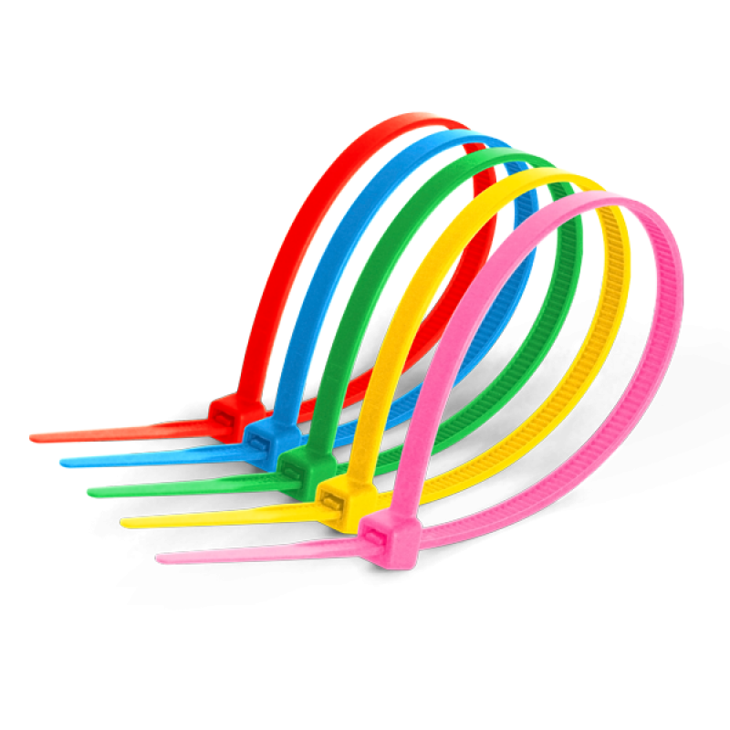 Кабельна стяжка 5х300 кольорова