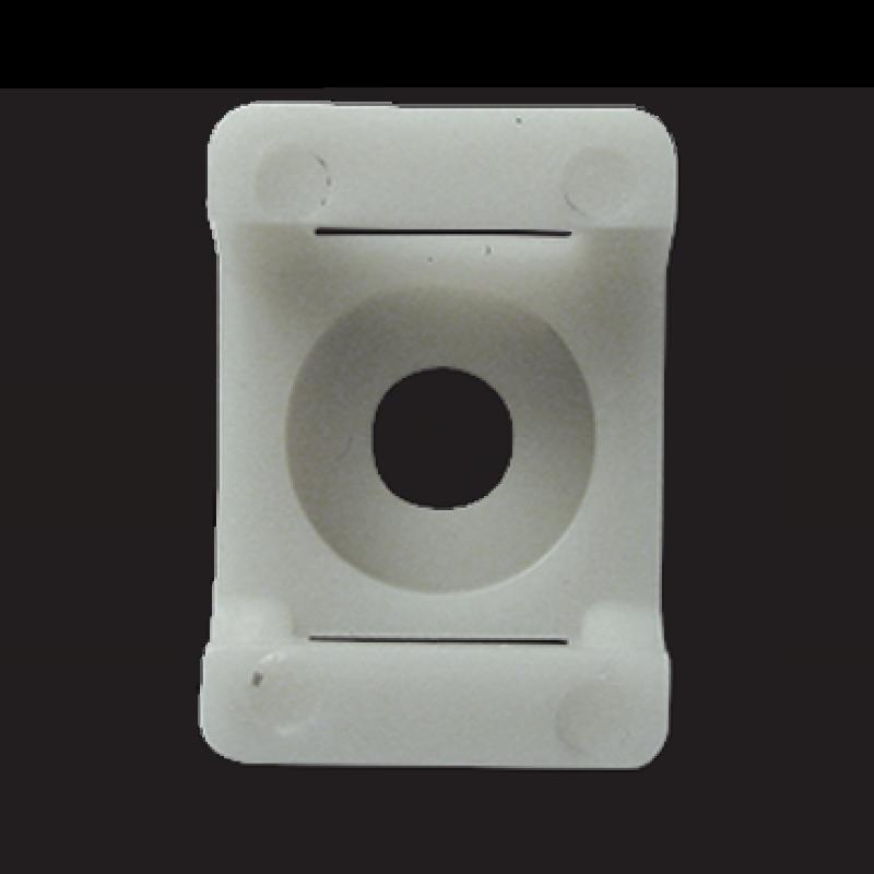 Площадка для стяжки до 8 мм под шуруп белая