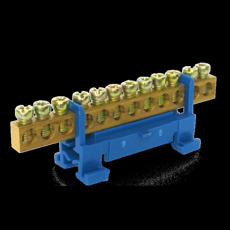Нулевая шина на DIN рейку 12N