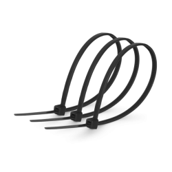Кабельная стяжка 3х100 черная