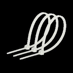 Кабельная стяжка 3х100 белая