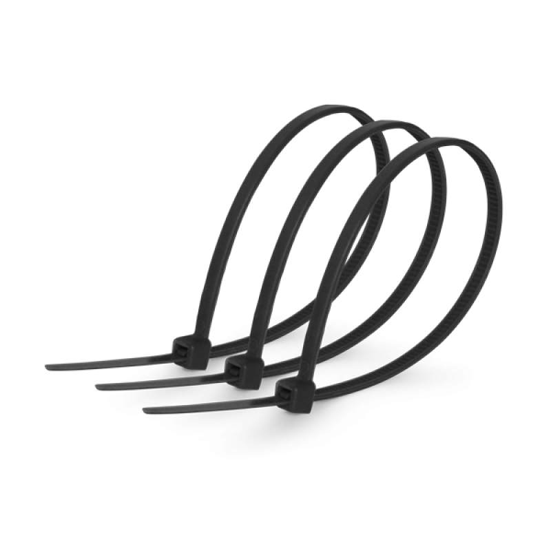 Кабельная стяжка 8х400 черная